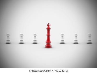 3D-Rendering Chess