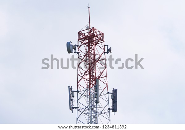 3g 4g 5g Cell Site Base Stock Photo (Edit Now) 1234811392