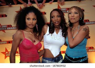 3LW at the MTV Movie Awards, LA, CA 6/5/2001