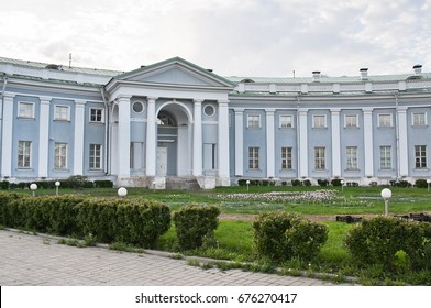 3rd building of the Sklifosovsky Research Institute (Hospice Sheremetev), Bolshaya Sukharevskaya square, Moscow