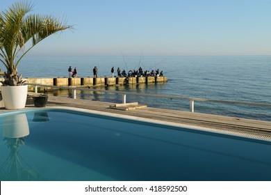 3rd of May 2016, Black Sea shore, Sochi, Russia