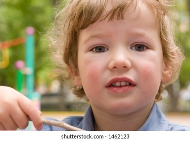 The 3-years kid