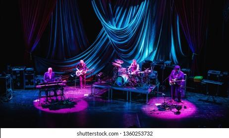 4 April 2019. TivoliVredenburg, Utrecht, The Netherlands. Concert of Joe Jackson