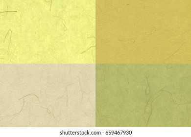 4 Different Japanese Paper Texture / Pattern