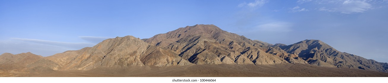 4 image stitch of the Monte Cristo Mountain range in Nevada.