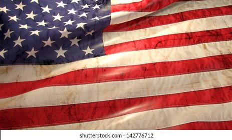 4 july flag