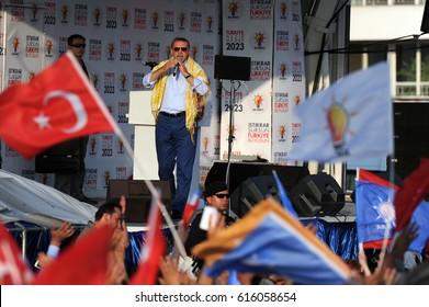 4 June 2011. Izmir, Turkey. Recep Tayyip Erdogan, 12th President of Turkey.