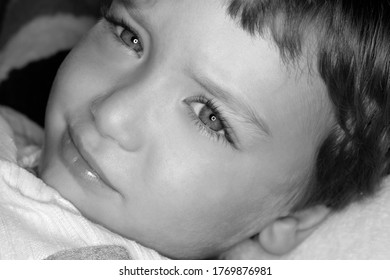 portrait d'enfant de 4 ans