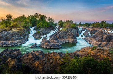 4000 islands is very beautiful and crazy river at Champasak, Laos