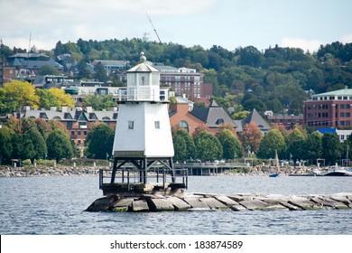 Avec 40 000 habitants, Burlington est la plus grande ville de l'état du Vermont.