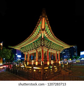 The 40th Anniversary Monument of Gojong's Enthronement in Seoul, South Korea