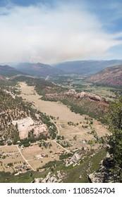 416 Forest Fire north of Durango, Colorado