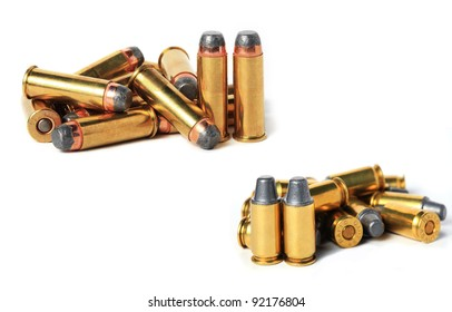 .44 Magnum vs .45 acp ammo.