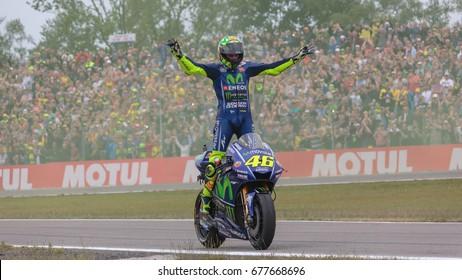 46, Valentino ROSSI, (ITA), Yamaha, Movistar Yamaha MotoGP, MotoGP 2017, Motul TT Assen, Race, 2017, Assen, Netherlands , 25 June 2017, MotoGP, TT Assen Circuit