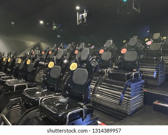 4D theater seat