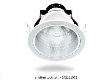 4-inch downlight fixture with e27 socket