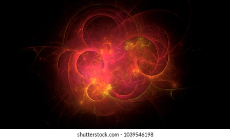 4k 3D rendering colorful fantasy light illustrated fractal background wallpapers