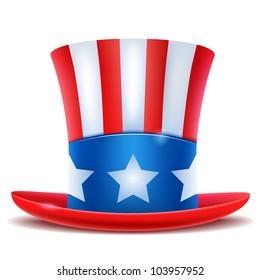 4th of July celebration hat icon.