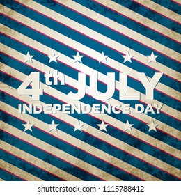 4th of july. Concept background.