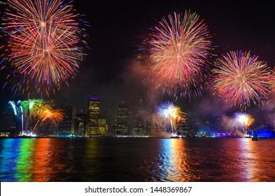 Macy's 4th of July fireworks newyork