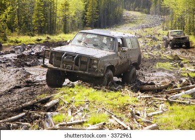 5668233fab7 4x4 action through a huge mud bog.