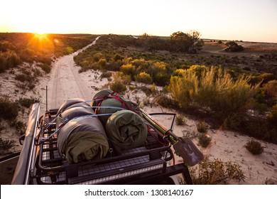 4x4 desert camping