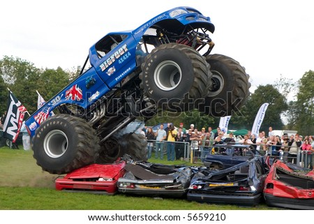 X Monster Truck UK Car Show Stock Photo Edit Now - Monster car show