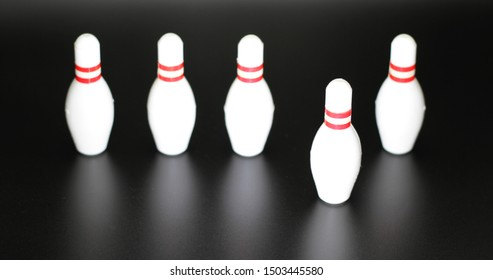 5 Bowling Pins 1 Steps Forward