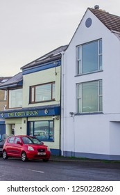 5 December 2018 The Dirty Duck restaurant and pub in Holywood County Down. Located on The esplanade this has enviable views of Belfast Lough