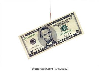 5 Dollars on Hook