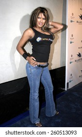5 February 2005 - Hollywood, California - Tracie Bingham. 'Blue Magazine' Launch Party at the Concorde Night Club in Hollywood.