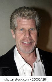 5 February 2005 - Hollywood, California - Ron Perlman. 'Blue Magazine' Launch Party at the Concorde Night Club in Hollywood.
