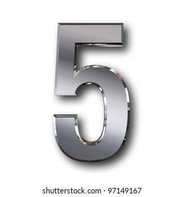 5 silver