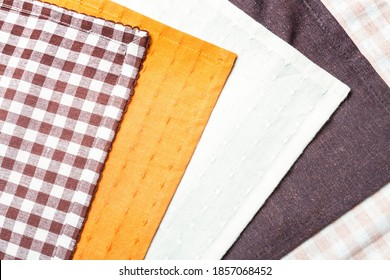 5 types colors of placemats