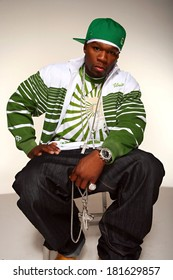 50 Cent, aka Curtis Jackson posing for a portrait for EXCLUSIVE PORTRAITS 50 Cent, , Los Angeles, CA May 15, 2007