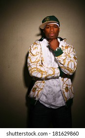 50 Cent, aka Curtis Jackson posing for a portrait for EXCLUSIVE PORTRAITS 50 Cent, Los Angeles, CA May 15, 2007