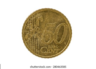 50 cent euro coin 2000 tail