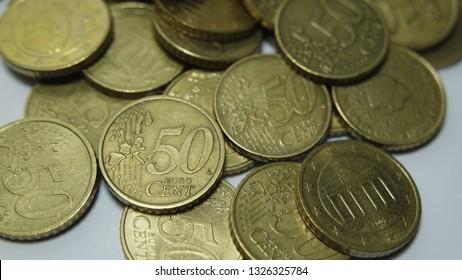 50 Cent Euro Coins