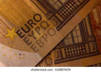 50€, 50 euro - money texture background