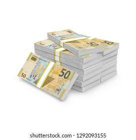 50 fifty Azerbaijani manat