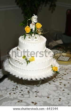 50 Wedding Anniversary Cake Stock Photo Edit Now 641544 Shutterstock