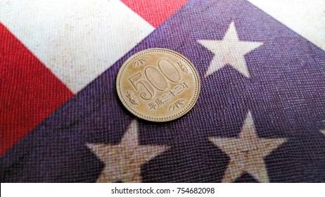 500 japanese yen coin