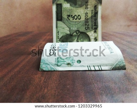 500 Rupees Note Stock Photo (Edit Now) 1203329965 - Shutterstock