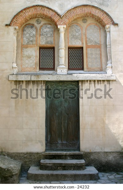 500 yeard old church detail