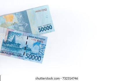50000 Indonesian rupiah banknote