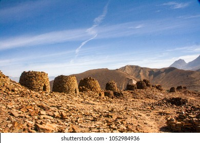 5000-year-old stone 'beehive' tombs at the UNESCO world heritage site of Bat in Oman