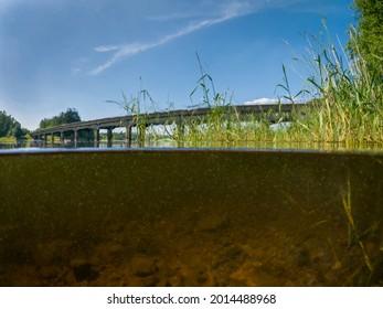 5050 OverUnderwater View of Baltyboys Bridge from Blessington Lake
