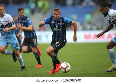 5.05.2019. Stadio Olimpico, Rome, Italy. Serie A. TIMOTHY CASTAGNE in action during the match Italy Serie A league, SS LAZIO VS ATALANTA  at Stadio Olimpico in Rome.