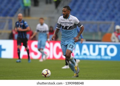 5.05.2019. Stadio Olimpico, Rome, Italy. Serie A. WALLACE in action during the match Italy Serie A league, SS LAZIO VS ATALANTA  at Stadio Olimpico in Rome.