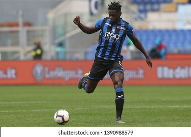 5.05.2019. Stadio Olimpico, Rome, Italy. Serie A. DUVAN ZAPATA in action during the match Italy Serie A league, SS LAZIO VS ATALANTA  at Stadio Olimpico in Rome.